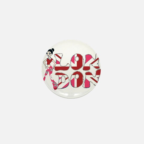 LDN Glitter Babe 04 Mini Button