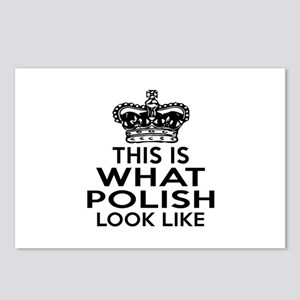 I Am Polish Postcards (Package of 8)