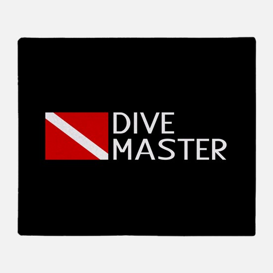 Diving: Diving Flag & Dive Master Throw Blanket