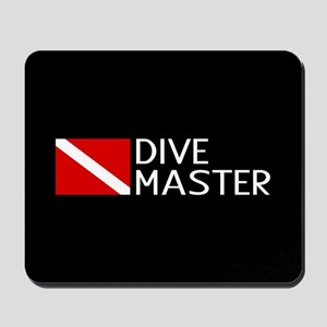 Diving: Diving Flag & Dive Master Mousepad