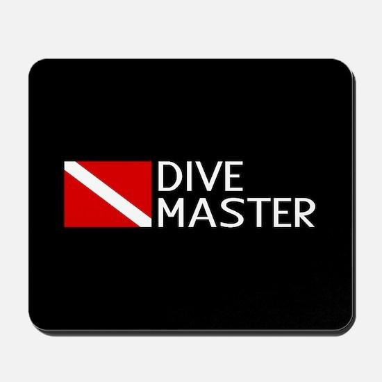 Diving: Diving Flag & Dive Master Mousepad
