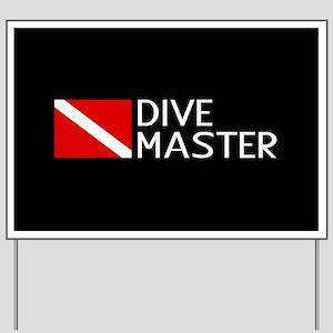 Diving: Diving Flag & Dive Master Yard Sign