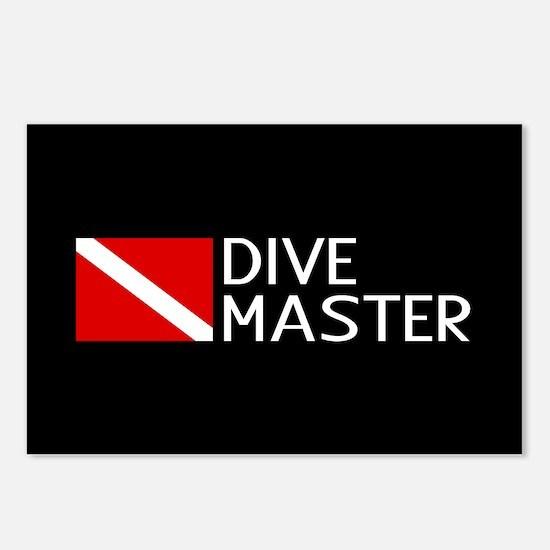 Diving: Diving Flag & Div Postcards (Package of 8)