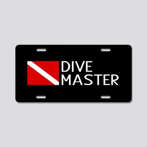 Diving: Diving Flag & Dive Aluminum License Plate