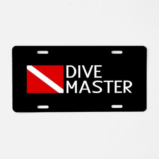 Diving: Diving Flag & Dive Aluminum License Plate