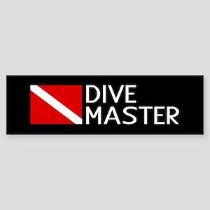 Diving: Diving Flag & Dive Master Sticker (Bumper)