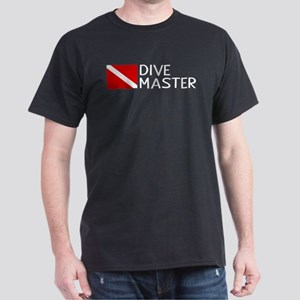 Diving: Diving Flag & Dive Master Dark T-Shirt
