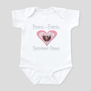 PeTP Pro-Life Pastels Infant Creeper