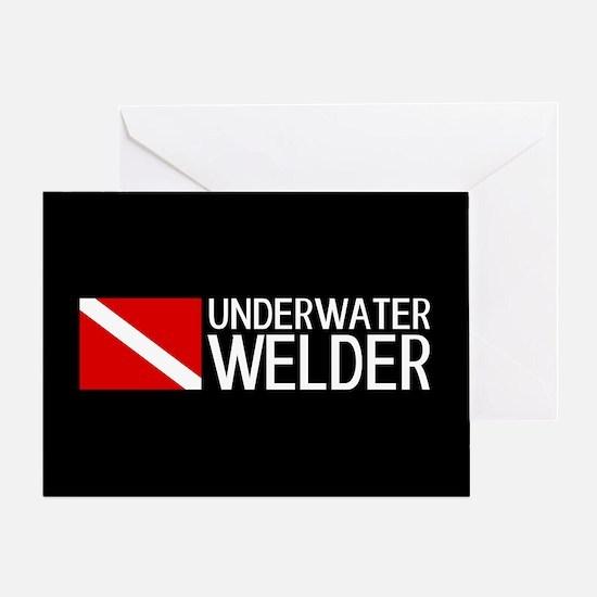 Welding: Underwater Welder & Diving Greeting Card
