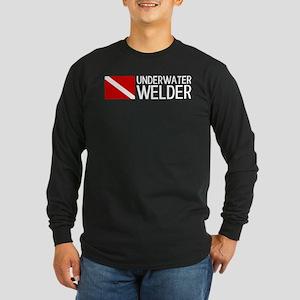 Welding: Underwater Welde Long Sleeve Dark T-Shirt