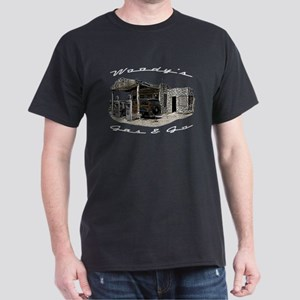 Woody's Gas & Go Dark T-Shirt
