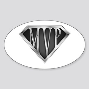 SuperMVP(metal) Oval Sticker