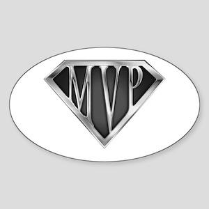 SuperMVP(metal) Oval Sticker
