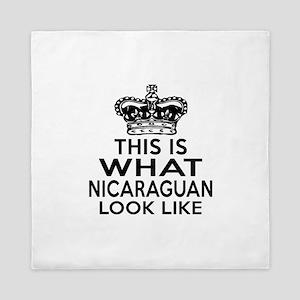I Am Nicaraguan Queen Duvet