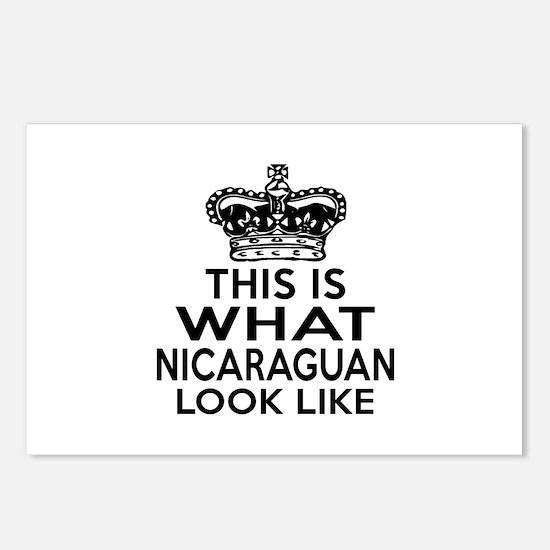 I Am Nicaraguan Postcards (Package of 8)