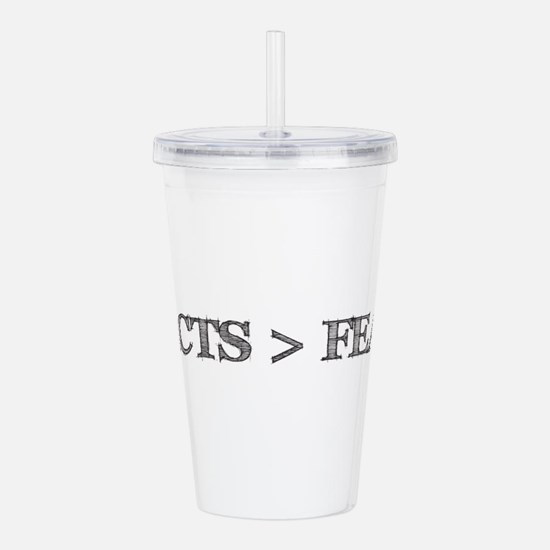 Unique Atheist science Acrylic Double-wall Tumbler