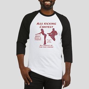 Ass Kicking Contest Baseball Jersey
