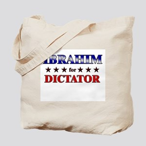 IBRAHIM for dictator Tote Bag