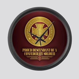 Proud Descendant Large Wall Clock