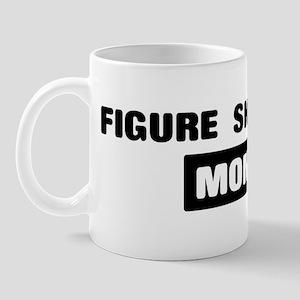 FIGURE SKATING mom Mug