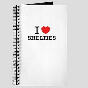 I Love SHELTIES Journal