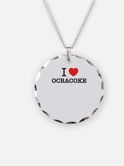 I Love OCRACOKE Necklace