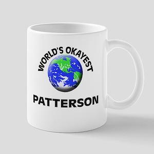 World's Okayest Patterson Mugs