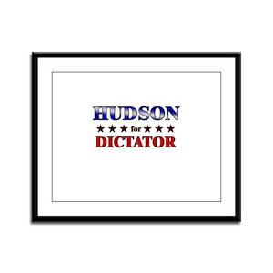 HUDSON for dictator Framed Panel Print