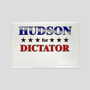 HUDSON for dictator Rectangle Magnet