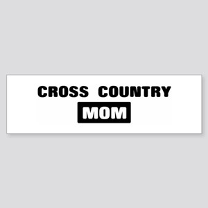 CROSS COUNTRY mom Bumper Sticker