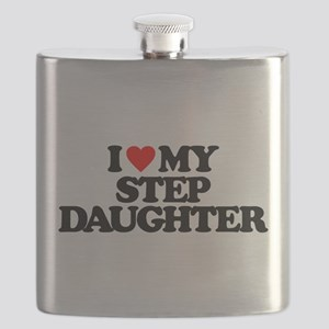 I LOVE MY STEP DAUGHTER Flask