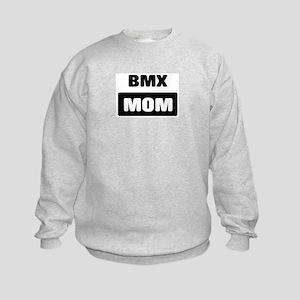 BMX mom Kids Sweatshirt