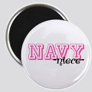 NAVY Niece - Jersey Style Magnet