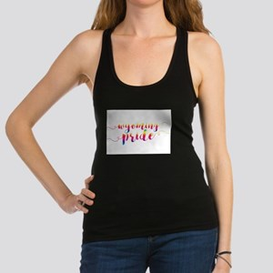 Wyoming Pride Racerback Tank Top
