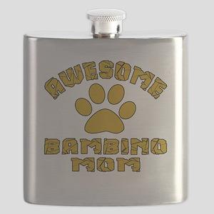 Awesome Bambino Mom Designs Flask