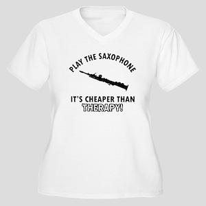Soprano It's Chea Women's Plus Size V-Neck T-Shirt
