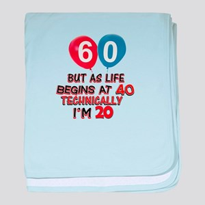 60 years.. but technically younger baby blanket