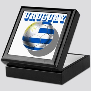 Uruguay Soccer Ball Keepsake Box
