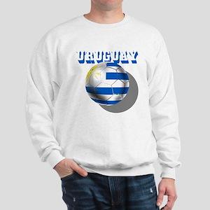 Uruguay Soccer Ball Sweatshirt