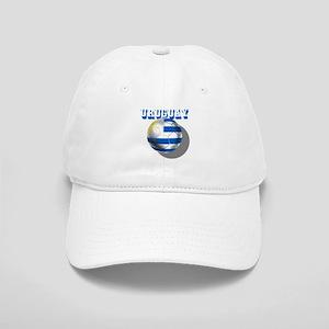 Uruguay Soccer Ball Cap