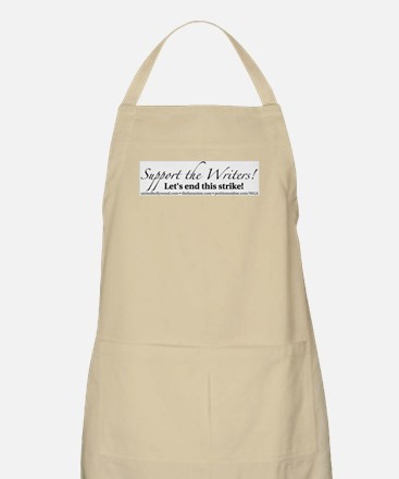 Support the Writers! BBQ Apron