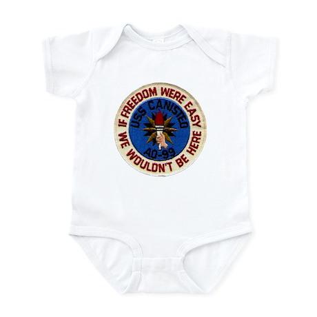 USS CANISTEO Infant Creeper