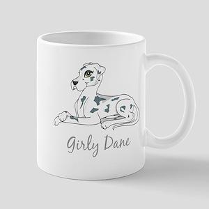 Girly Dane Mug