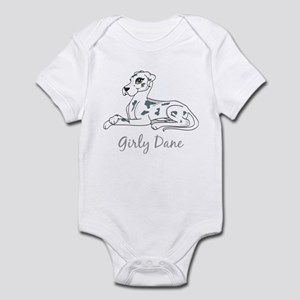 Girly Dane Infant Bodysuit