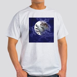 Moon Wolf ~ White T-Shirt (2 Sides) T-Shirt