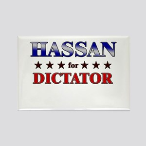 HASSAN for dictator Rectangle Magnet
