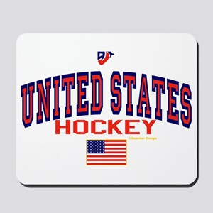 US(USA) United States Hockey Mousepad