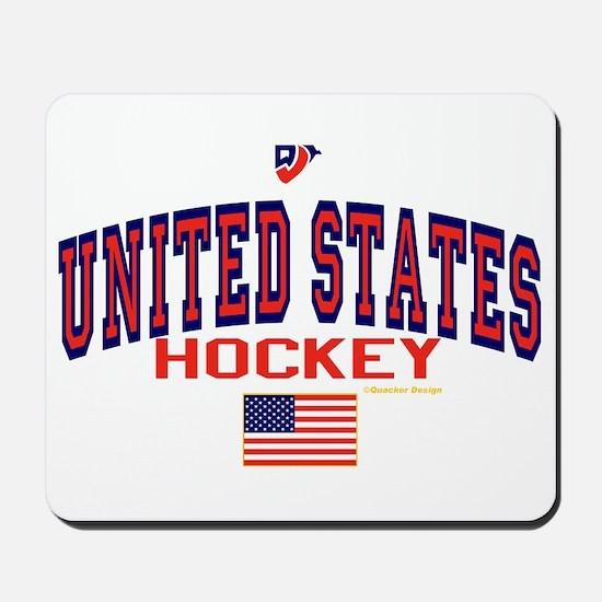 US(USA) United States Hockey Mousepad
