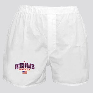 US(USA) United States Hockey Boxer Shorts
