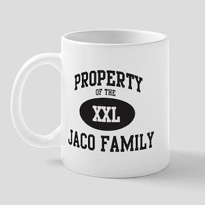 Property of Jaco Family Mug
